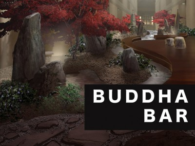 Buddha Bar interior garden design